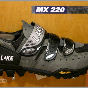 Lake Shoes with Vibram Sole