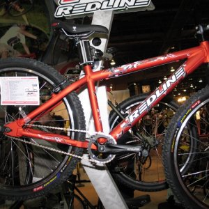 Redline singlespeed bike