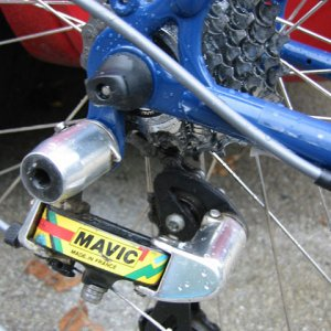 Lets see some vintage Mavic mtb components