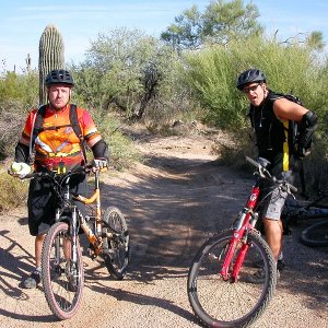 Pima and Dynamite Trails