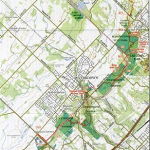Waterdown Trails map
