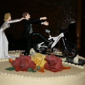 Greatest wedding cake of all time!