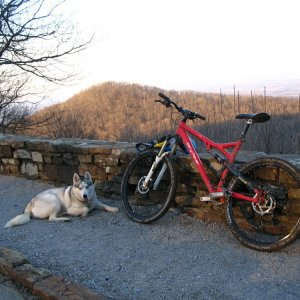 ride at monte sano today
