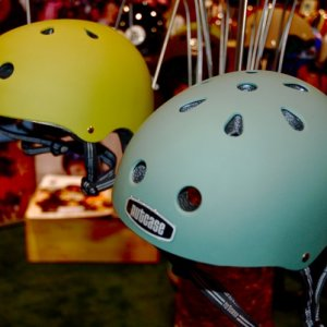 new matte finish helmets by Nut Case