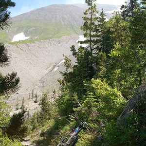 Sheep Canyon, Loowit Trail, Mount St Helens NVM