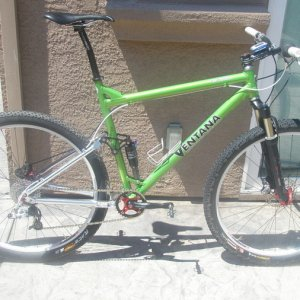My new Ventana Race Rig