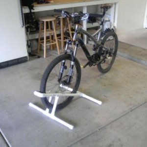 The Home Made PVC Bike Stand Thread?