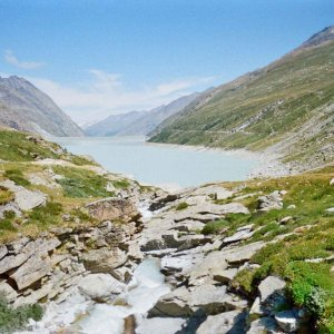 Mattmark Lake to Monte Moro Pass