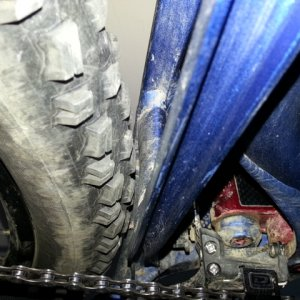 Clarifying Mach 429 Tire Clearance - from Chris Cocalis