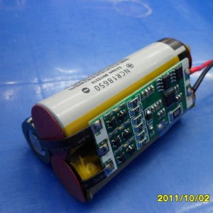 Review & dissection of magicshine battery mj-828